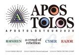 """眩暈SIREN × a crowd of rebellion × CY8ER × RAZOR、異色の東名阪4マン・ツアー""""APOSTOLOS TOUR2020""""来年2月開催決定"""