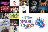 """""""FM802 RADIO CRAZY""""、第3弾出演者にポルカ、バニラズ、テナー、Nulbarich、フレンズ、緑黄色社会、THE BAWDIES、パスピエ、ネクライトーキー、teto、グドモら決定"""