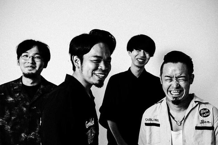 グルーヴィ・ロック掲げる北浦和の4人組 ANABANTFULLS、2ndアルバム『自然発火』より「目を覚ませ!」MV公開