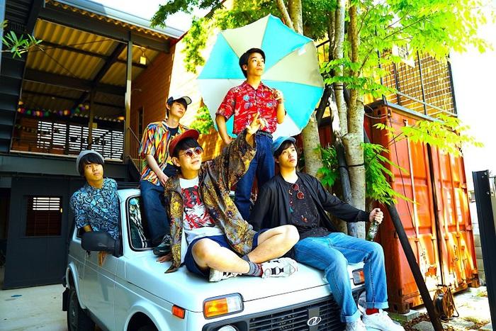 京都発新鋭バンド 浪漫革命、明日11/24にサーフ・ロック・ラヴ・ソング「アバンチュール」配信開始&MV公開決定。レコ発ツアー・ゲストに愛はズ、ザ・おめでたズ発表も