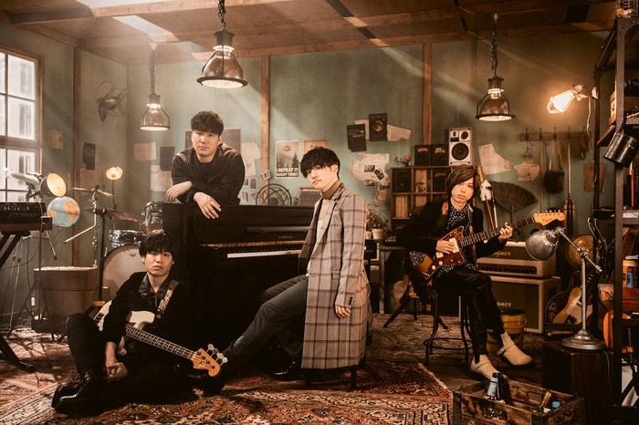Official髭男dism、ニュー・シングル表題曲「I LOVE...」ラジオ・オンエアが1/1 0時よりスタート。最新アー写も公開