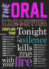 THE ORAL CIGARETTES、2月より対バン・ツアー開催決定。本日12/18デジタル・リリースの「Shine Holder」MVも公開