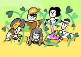"""フレンズ、5月よりバンド結成5周年記念ワンマン・ツアー""""クゥインクゥエニィアルクィンテットツアー""""開催決定"""