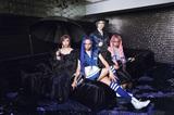 女王蜂、ニュー・アルバム『BL』封入応募特典は撮影OKのスペシャル・ライヴ