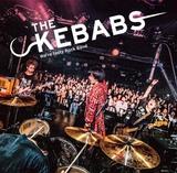 ユニゾン田淵、AFOC佐々木らによるバンド THE KEBABS、2/26リリースのライヴ・アルバムより「猿でもできる」MV公開。ジャケット写真も公開