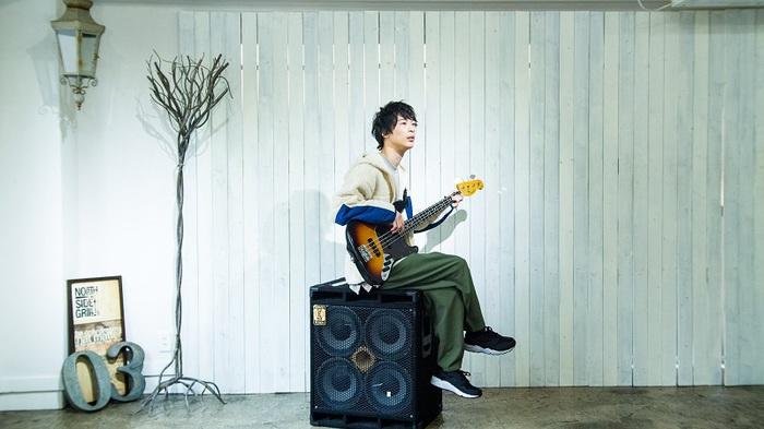 岡田典之(空想委員会)、ソロ1stシングル「最高低ライン」配信リリース。MVも公開