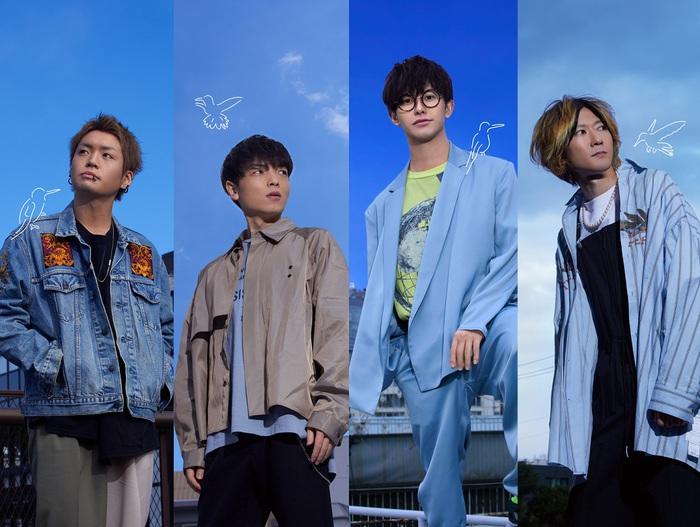 """BLUE ENCOUNT、TVアニメ""""あひるの空""""OPテーマの新曲「ハミングバード」をデジタル・シングルとして4/8配信決定。ジャケ写も公開"""