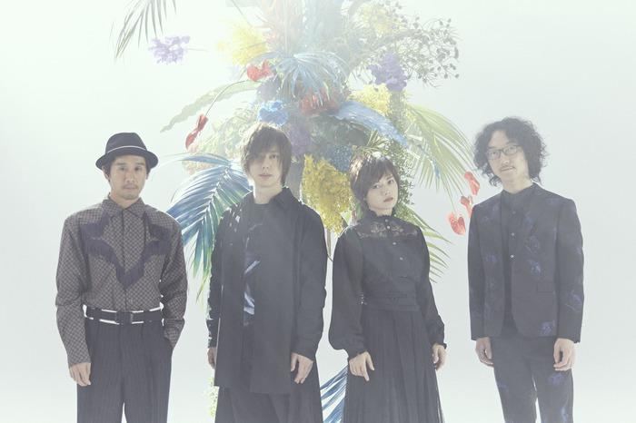 FLOWER FLOWER、3/25リリースのニュー・アルバム『ターゲット』アートワーク&詳細公開。ミゾベリョウ(odol)ゲストVo参加曲も収録