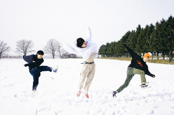 """北海道在住の3ピース・ロック・バンド KALMA、夏のワンマン・ツアー開催決定。「これでいいんだ」がTBS""""CDTV""""3月度EDテーマに決定も"""