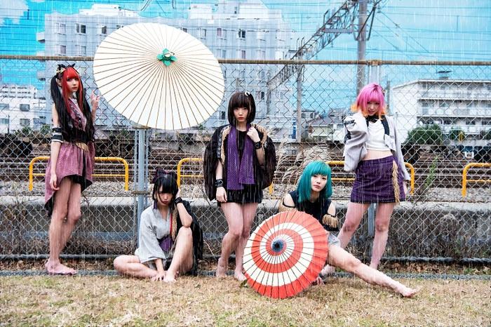 KAQRIYOTERROR、2ndシングル7/15にリリース決定。ワンマン・ツアー開催も