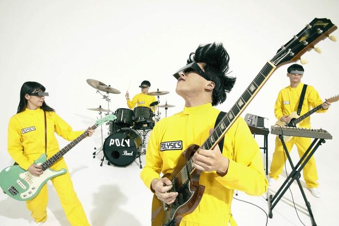 POLYSICS、メンバーそれぞれの自宅で演奏した4人体制最後のライヴ映像「Let's ダバダバ(おうちでダバダバ ver.)」公開