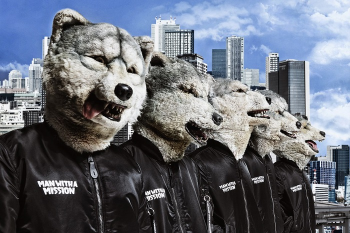 """MAN WITH A MISSION、初ドキュメンタリー映画""""MAN WITH A MISSION THE MOVIE -TRACE the HISTORY-""""8/19にBlu-ray&DVDでリリース決定"""