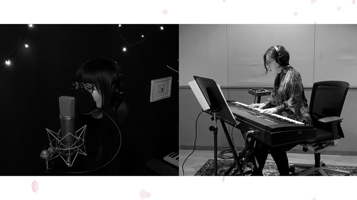 Aimer、梶浦由記との「春はゆく」セッション動画を今夜22時よりYouTubeにてプレミア公開決定
