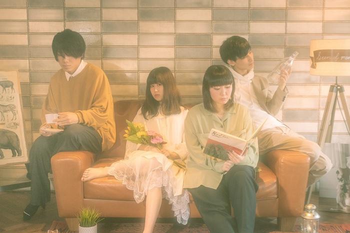 フラスコテーション、7/15に1stアルバム『呼吸の景色』リリース。詳細発表動画&新曲「function」MV公開