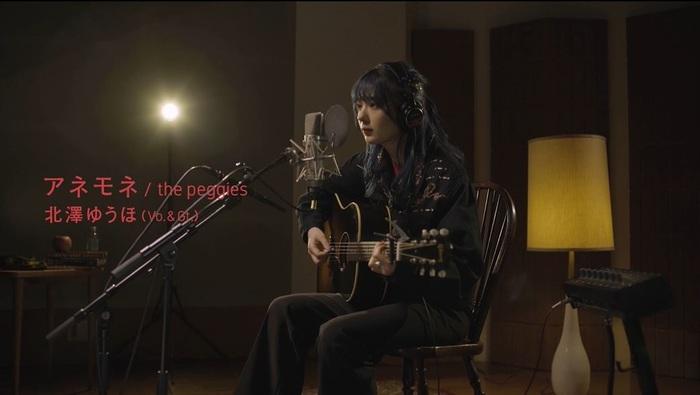 the peggies、弾き語りスタジオ・ライヴ映像第3弾「アネモネ」フル公開