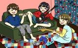 SHISHAMO、新曲「妄想サマー」宮崎朝子(Gt/Vo)描き下ろしイラストによるリリック・ビデオを5/26プレミア公開決定