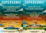 """9月開催の""""SUPERSONIC""""、第2弾ラインナップにBLACK EYED PEAS、Steve Aoki、アジカン、マカロニえんぴつ、女王蜂、chelmico、Creepy Nuts、BiSH、CLEAN BANDITら決定"""