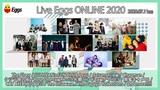 "The Floor、クジラ夜の街、南蛮キャメロ、ヤユヨ、Chapmanら出演。札幌、東京、大阪の3会場繋ぐオンライン・フェス""Live Eggs ONLINE 2020""7/11開催決定"