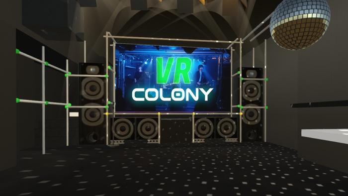 """バーチャル・ライヴハウス""""VR COLONY""""、6/14に初のイベント""""超貴重映像公開!! COLONY スペシャルトーク""""開催。アルクリコールら5組のライヴ映像配信"""