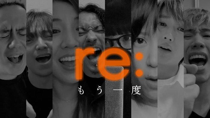 Taka(ONE OK ROCK)、KENTA(WANIMA)、阿部真央、清水翔太、Aimer、Nissy(西島隆弘)ら8人の豪華アーティストによるコラボ楽曲「もう一度」公開