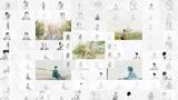 SHE'S、7/1リリースのニュー・アルバム『Tragicomedy』よりファンから募った約2,000枚のイラストと実写を合わせた「One」MV公開