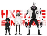 "BURNOUT SYNDROMESプロデュースのスペシャル・ユニット""HXEROS SYNDROMES""、1stシングル『Wake Up H×ERO! feat.炎城烈人(CV:松岡禎丞)』8/26リリース決定"