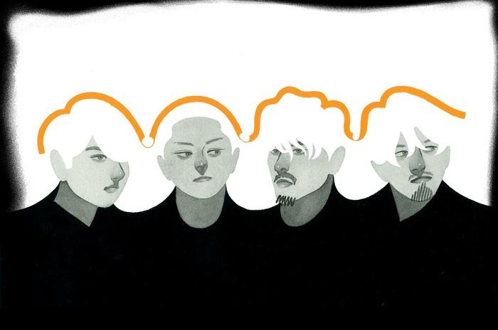 DATS、9月発売のニュー・アルバム『School』より先行配信シングル「Showtime」明日7/29リリース&MV公開。新ヴィジュアルも発表