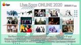 """札幌、東京、大阪の3会場を繋ぐオンライン・フェス""""Live Eggs ONLINE 2020""""、出演者にKALMA追加発表&タイムテーブル公開"""