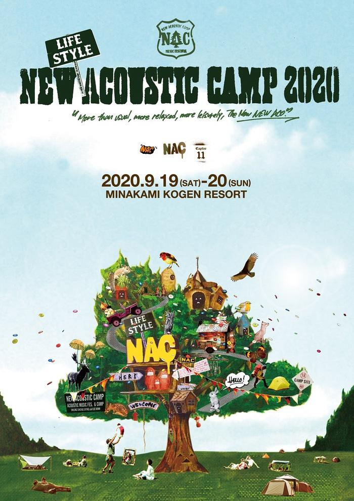 """New (Lifestyle) Acoustic Camp 2020""、9/19-20開催。OAU出演決定&タイムテーブル公開、オーガナイザー TOSHI-LOWが開催への思い語るYouTube生配信も"