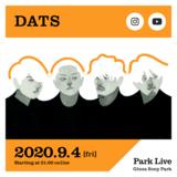 """DATS、9/4開催のGinza Sony Parkによる配信ライヴ・シリーズ""""Park Live""""に出演"""