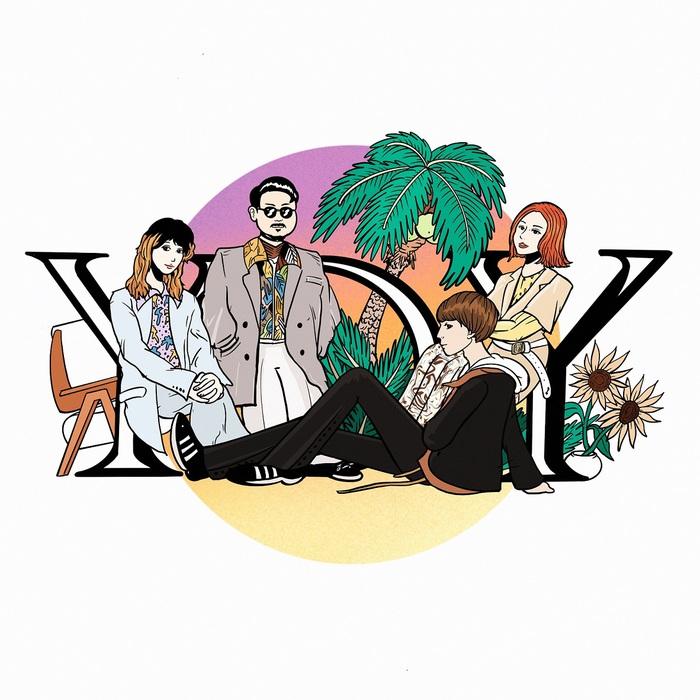 ゲスの極み乙女。、ちゃんMARI(Key)がメイン・ヴォーカル務めるデジタル・シングル「YDY」リリース