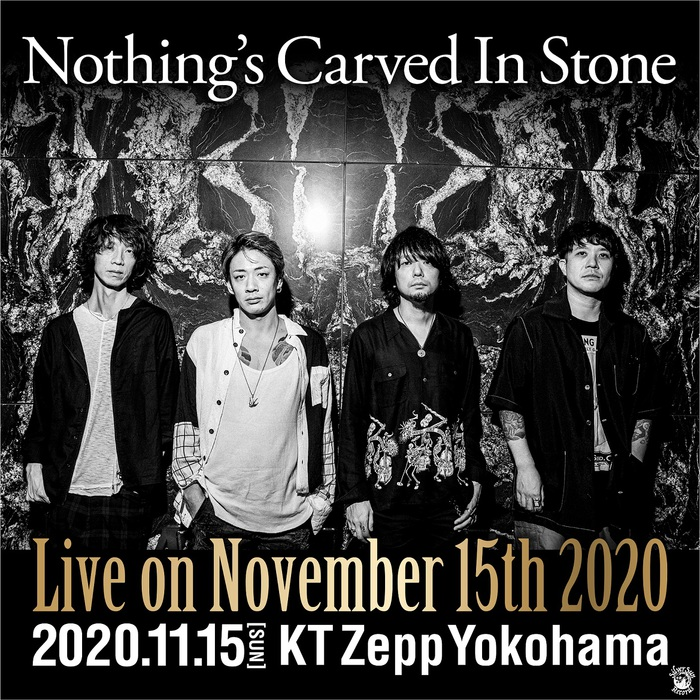 """Nothing's Carved In Stone、恒例のワンマン・ライヴ""""Live on November 15th""""を有観客+生配信にて開催決定"""