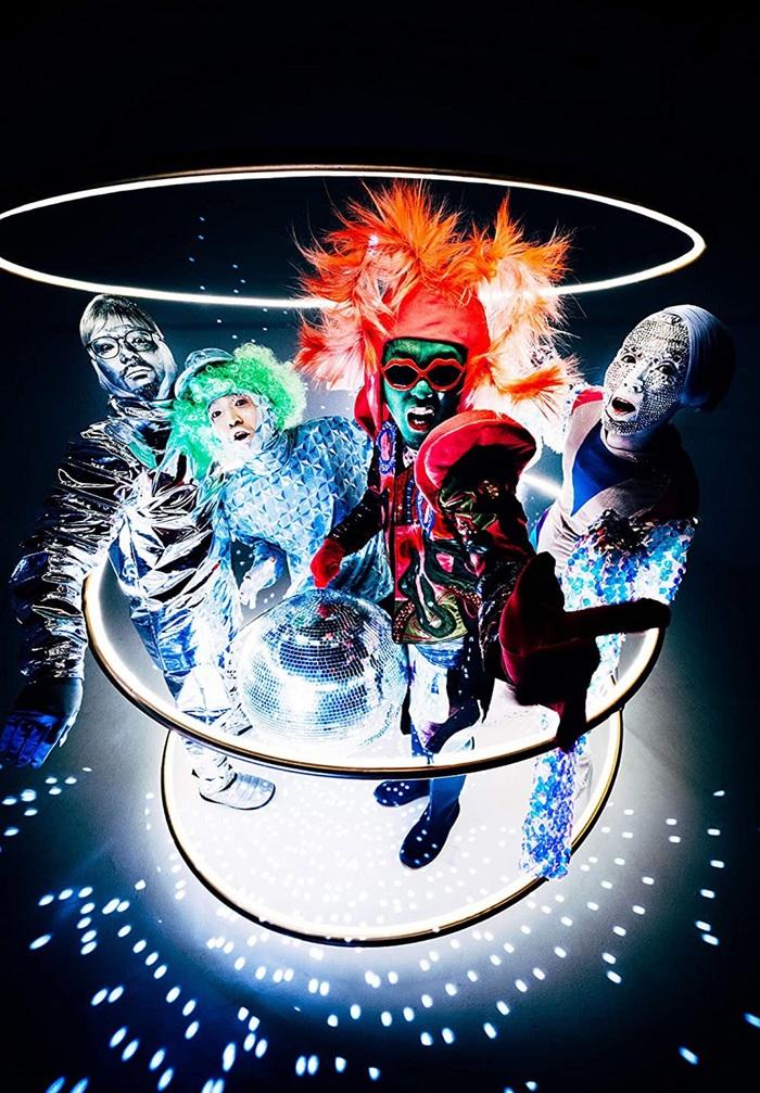 the telephones、5年ぶりのニュー・アルバム『NEW!』リリース日が11/4に決定。メンバーをモチーフにしたジャケットも公開