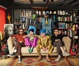 GORILLAZ、ニュー・アルバム『Song Machine: Season One - Strange Timez』より新曲「The Pink Phantom ft. Elton John & 6LACK」リリース。Eltonがカートゥーン・キャラに変身したMVも公開