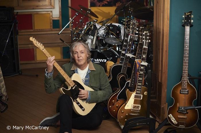 Paul McCartney、ニュー・アルバム『McCartney Ⅲ』12/11リリース決定