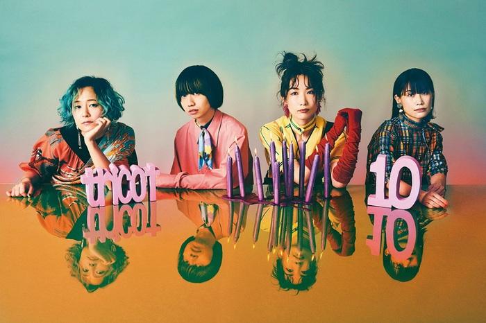 tricot、新曲「悪戯」MV公開。ニュー・アルバム『10』リリース記念したふたつのライヴも決定