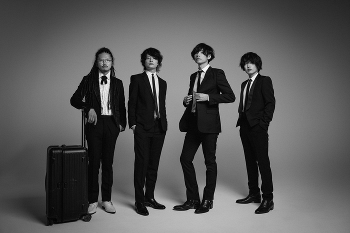 [Alexandros]、初ベスト・アルバム『Where's My History?』アートワーク&話題曲多数の収録内容を発表