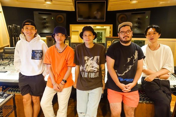 FIVE NEW OLD、Masato(coldrain)をゲストVoに迎えた新曲「Chemical Heart (feat.Masato from coldrain)」12/18配信リリース