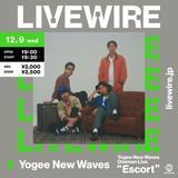 "Yogee New Waves、約1年ぶりの有観客ライヴ""Oneman Live Escort""チケット完売につきLIVEWIREでの生配信が急遽決定"