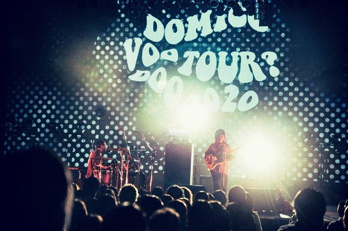 ドミコ、自身初となるライヴ映像作品『VOO DOO TOUR? FINAL』来年2/10発売決定