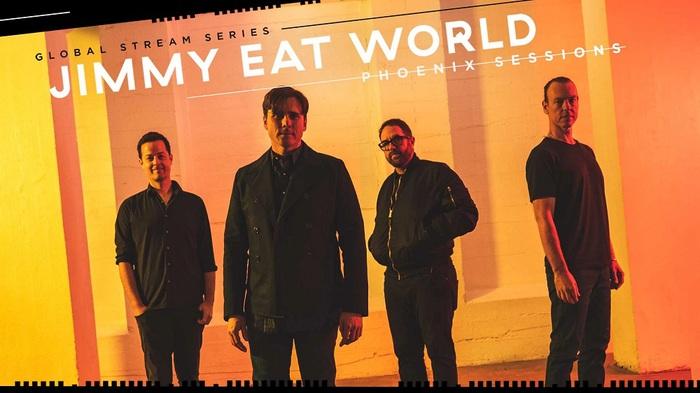 """JIMMY EAT WORLD、配信ライヴ・シリーズ""""Phoenix Sessions""""開催決定。最新アルバム『Surviving』、5thアルバム『Futures』、3rdアルバム『Clarity』をそれぞれ全曲演奏"""