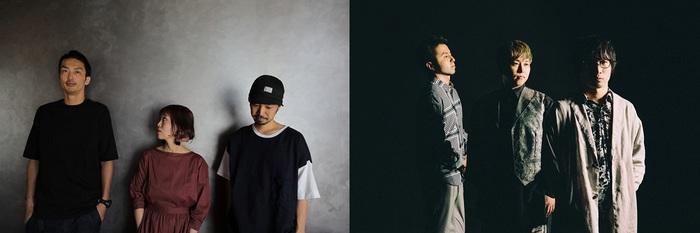 "jizue × fox capture plan、ワンステージで交互に演奏する""BACK TO BACK LIVE""開催"