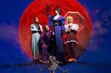 女王蜂、新作『夜天』リリースを記念してスタジオ・ライヴ映像を本日1/27より3日間連続公開