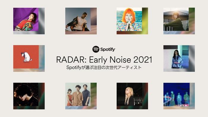 "(sic)boy、映秀。、PEOPLE 1、にしな他10組選出。Spotifyが2021年躍進を期待する次世代アーティスト""RADAR:Early Noise 2021""発表。プレイリスト&コーナーも公開"