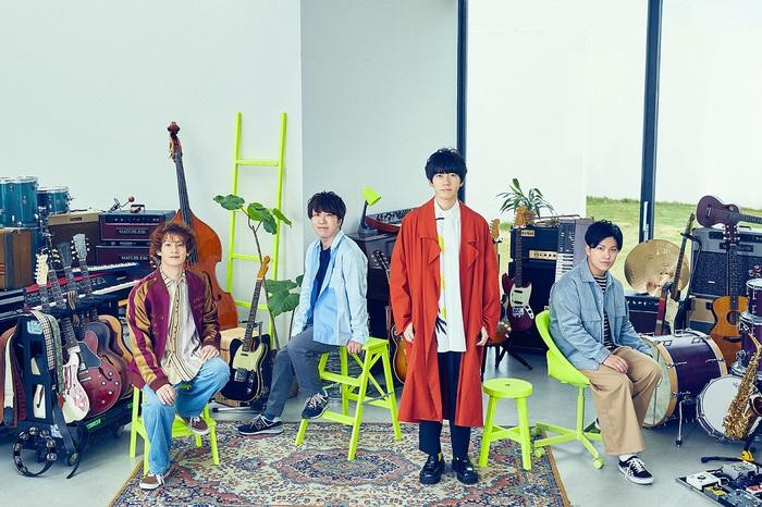 sumika、スペースシャワーTVの3月V.I.P.アーティストに決定。アルバム発売日には生配信番組も緊急決定