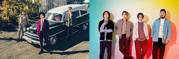 """BRADIO & FIVE NEW OLD、メ~テレ""""BomberE""""でライヴ&トーク収録の様子を番組YouTubeチャンネルから生配信"""