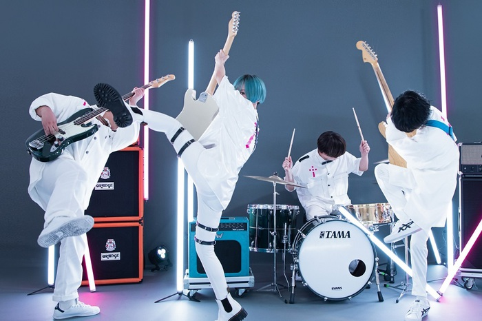 ポルカドットスティングレイ、2nd EP『赤裸々』5/26リリース&約2年3ヶ月ぶりの全国ツアー開催決定
