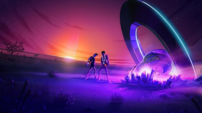 """謎のアーティスト AREA21、""""銀河系で最もハッピーなアンセム""""「La La La」配信リリース&MV公開"""
