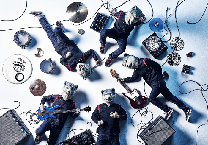MAN WITH A MISSION、新曲「Perfect Clarity」先行配信&ラジオ・フル・サイズOA決定