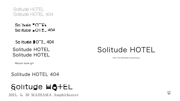 "Maison book girl、5/30に""Solitude HOTEL""開催。会場は舞浜アンフィシアター"